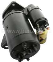 Starter motor, suitable for Peugeot 404 D. Peugeot 504 1,9D. Citroen HY Diesel. 12V. Power: 1,95KW. Teeth: 9 teeth. 3 mounting holes. Mounting position: On the left of 48°. Direction of rotation in in the clockwise direction. The starter motor is a new part. An old part return is not necessary! -2 - 72107 - Der Franzose