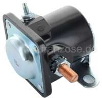 Starter relay 6 V, 200 ampere. Suitable for vehicles with 6 V technology. (Citroen 11CV, Dauphine.). -1 - 60111 - Der Franzose