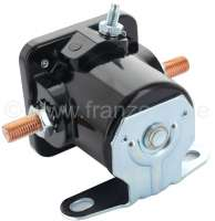 Starter relay 6 V, 200 ampere. Suitable for vehicles with 6 V technology. (Citroen 11CV, Dauphine.). -2 - 60111 - Der Franzose