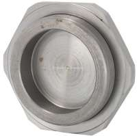Hub nut for the lower steering unit pin. Suitable for Citroen 11CV + 15CV. Thread: M34 x 150. Or. No. 601877 -2 - 60223 - Der Franzose