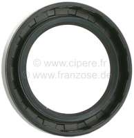 Seal down + above, for the steering unit reversing lever bearing. Dimension: 32 x 46 x 7mm. With simple lip. Or. No. ZC9612641U. Made in Germany. -1 - 33159 - Der Franzose