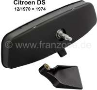 Rear view mirror (inside mirror). Suitable for Citroen DS, starting from year of construction 12/1970. | 38301 | Der Franzose - www.franzose.de