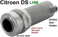 Suspension cylinder rear (new part). Hydraulic system LHM. 59mm. Suitable for Citroen DS sedan, starting from year of construction 1966. Or. No. 2D 5410 163W. An old part return is not necessary. - 33291 - Der Franzose