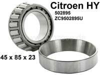 Differential bearing inside. Suitable for Citroen HY, all years of construction. Dimension:  45 x 85 x 23. Or. No. 502895 + ZC9502 895U | 44860 | Der Franzose - www.franzose.de