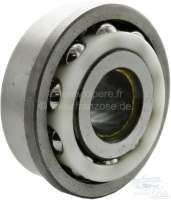 Double ball bearing, for 5 speed gearbox (front side shaft, between 4 + 5 speed). Suitable for Citroen DS. Dimensions: 30 x 76/82,55 x 33,40mm. Or. No. ZC9620333 -1 - 31315 - Der Franzose