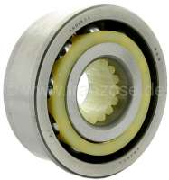 Gearbox bearing lower (jackshaft). Suitable for Citroen HY, of year of construction 1957 to 08/1966. Dimension: 30 x 72.0 x 78.5 x 30,0mm. Or. No. 620071 -1 - 44862 - Der Franzose