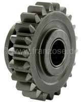 Reverse gear sliding sleeve (gear wheel, 22 teeth). For 4 gear + 5 gear gearbox. Suitable for Citroen DS. Or. No. 1D 5411 416P + DX333-111A. -1 - 30375 - Der Franzose
