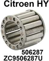 Roller bearing for the primary shaft. Suitable for Citroen HY, all years of construction. Dimension: 19.02 x 28.6 x 25. Or. No. 506287 + ZC9506287U - 44863 - Der Franzose
