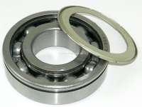 Wheel bearing outside (with sealing ring), at the front axle. Suitable for Citroen 11CV, starting from year of construction 06/1953. Dimension: 72 x 32 x 19mm. Or. No. 441510 - 60508 - Der Franzose