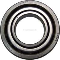 Wheel bearing rear, large version. The wheel bearing is not divisible. Suitable for Citroen DS. Dimension: 80x40x18mm. Or. No. ZC9620079U. Made in Spain - 32007 - Der Franzose