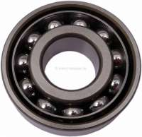Wheel bearing rear, small version. Suitable for Citroen DS + Citroen 15CV. Dimension: 62x25x17 mm (ball bearing). Or. No. ZC9620070U. Made in Spain - 32009 - Der Franzose