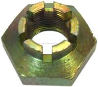Crown nut for the wheel bearing at the rear axle. Suitable for Citroen 11CV + 15CV. Or. No. 421024 | 60511 | Der Franzose - www.franzose.de