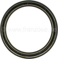 Wheel hub shaft seal wheel side (harder shaft seal), suitable for Citroen DS + Citroen HY. Dimension about 129.25 x 160.75 x 10mm. -1 - 33233 - Der Franzose