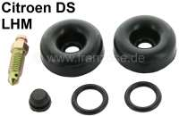 Wheel brake cylinder repair set, hydraulic system LHM. Suitable for Citroen DS sedan, starting from year of construction 1966. - 33013 - Der Franzose
