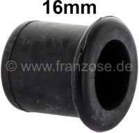 End cap rubber. 16mm inside diameter. E.G., for plugging water pumps or heater radiator connections. - 32449 - Der Franzose