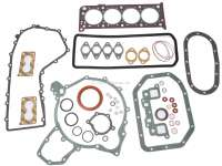 P 104/Visa, engine gasket set for Citroen Visa Super 1124. Peugeot 104 GLS, SI, ZL ZS. Installed to year of construction 12/1985. - 41406 - Der Franzose