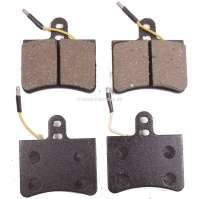 brake pads front GS 2 serie  starting from 1973, width 77,1 / higth 82,2,  thickness 16mm with wear indicator - 44098 - Der Franzose