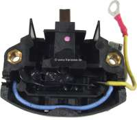 Battery charging regulator (internal mounting). Suitable for Renault R4, R5, R16, alpine A310 (6 liners). Citroen CX 1+2. Peugeot 204 + 304. - 82115 - Der Franzose