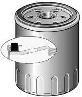 Oil filter LS187. Suitable for Citroen VISA, C15 (1,1L). Peugeot 309 (1.1 + 1,3L). Talbot 1307, 1510, Horizon, Solara. Thread: M16x1,5. Diameter: 78mm. Height: 73mm. - 71222 - Der Franzose