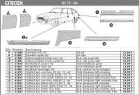 Outer hatchback panel GS. Made in Europe. - 65018 - Der Franzose