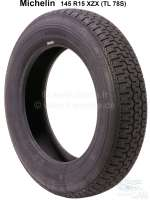 Tire 145 R15 XZX (tl 78S). Manufacturer Michelin. Suitable for Citroen GS, GSA. Renault Dauphine, R8, R10, Floride. Summer tire - 12213 - Der Franzose