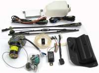 GSA, tail wiper engine for re-tooling. Original one! Completely with  wiring harness, switch, engine, wiping RAM, wiper blade, reservoir. - 45033 - Der Franzose