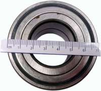 P 205/AX/C15, wheel bearing Peugeot 205 in front, apart from XU9JA, Citroen AX 1,4, Citroen C15 1.3-1.9. Outside diameter 72mm, inside diameter 35mm, wide one 34mm. Or.Nr. 332631 - 73545 - Der Franzose