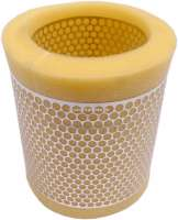 P 205, air filter. Suitable for Peugeot 205 (1,0 to 1.4L), of year of construction 02/1983 to 10/1987. Outside diameter: 128mm. Inside diameter: 94mm. Height: 145mm. Or. No. 1445.95 - 72901 - Der Franzose