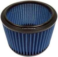 P 504 V6, air filter, suitable for Peugeot 504 V6 TI. Outside diameter: about 170mm. Inside diameter: about 130mm. Height: about 125mm. - 72888 - Der Franzose