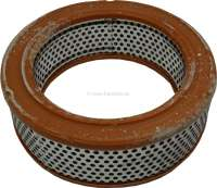 Simca 1000, air filter. Outside diameter: 160mm. Inside diameter: 115mm. Height: 55mm. Suitable for Simca 1000 - 72604 - Der Franzose