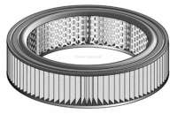Simca 1100/1100S, air filter. Outside diameter: 244mm. Inside diameter: 186mm. Height: 63mm. - 72696 - Der Franzose