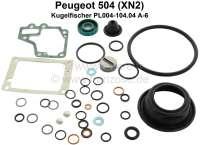 Kugelfischer repair set (original Bosch), for pump PL004-104.04 A-6. Suitable for Peugeot 504 2,0L (engine XN2) - 71341 - Der Franzose