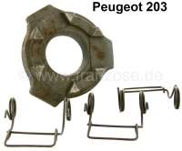 P 203, thrust ring for the clutch pressure plate (repair set of pressure plate). Suitable for Peugeot 203. - 71338 - Der Franzose