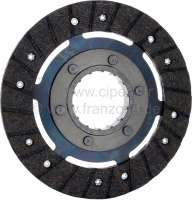 P 204/304, clutch disk without torsion springs. Suitable for Peugeot 204 + 304. Diameter: 200mm. Teeth: 14. Or. No. 2054.63 -1 - 72188 - Der Franzose