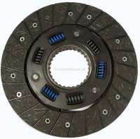 P 304/305, clutch disk. Suitable for Peugeot 304 Diesel (1,4+1,5D), starting from year of construction 1976. Peugeot 305 Diesel (1,5+1,6D). Dimension: 200 x 137 x 3,2mm. 28 teeth. - 72820 - Der Franzose