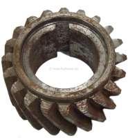 P 403/404, crankshaft, steering wheel. Suitable for Peugeot of 403 + 404. 20 teeth. Or. No. 0513.07 - 71213 - Der Franzose