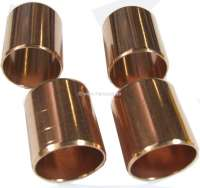 P 404/504, piston pin bushing (4 pieces). Suitable for Peugeot 404, 504, 505, 604. Inside diameter: 22,5mm. Outside diameter: 24,4mm. Overall height: 27,0mm. Or. No. 0604.14 - 71028 - Der Franzose