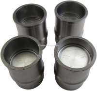 P 504 Injection, pistons + liner (4 item). Suitable for Peugeot 504 Incection, starting from year of construction 1970. Engine: XM. Bore: 84,0mm. Engine capacity: 1796cc. Piston rings: 1,5 + 2.0 + 4,0mm. Piston pin: 23 x 70mm. Outside diameter down: 93,0mm. Outside diameter above: 99,20mm. Height totally: 136,20mm. - 71260 - Der Franzose