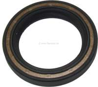 Shaft seal crankshaft (front side). Suitable for Peugeot 204 D, 304D (1,4L), 404D, 504D, J7D, J9D, Talbot express Diesel. Dimension: 42 x 60 x 8mm. Or. No. 0514.11 - 71060 - Der Franzose