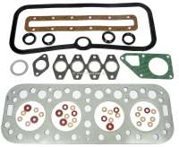 P 403, cylinder head gasket set for Peugeot 403, of year of construction 1959 to 1966. Suitable for all petrol engines, with the bore: 75,0mm + 80,0mm. Or. No. 0199.15 - 71106 - Der Franzose