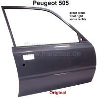 Door in front on the right, Peugeot 505. Original one! - 77650 - Der Franzose