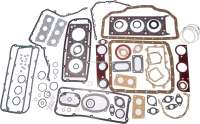 P 504/604/R30/Alpine V6. Engine gasket set (inclusive cylinder head gasket + shaft seals). Suitable for Peugeot 504 V6 (Cabriolet + Coupe). Peugeot 604 V6. Renault R30 V6. Renault alpine A310s V6. For engine capacity: 2646ccm. Or. No. 0197.75 - 71137 - Der Franzose