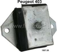 P 403, engine suspension. Suitable for Peugeot 403. Dimension rubber block: 70x45mm. Height: 30mm Or. No. 1807.08 - 70789 - Der Franzose