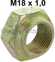 axle nut, front, Peugeot 504, 505, 604, thread: M18x1, wrench size: 30mm, Or.no. 693550 - 73475 - Der Franzose
