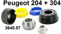 P 204/304, ball joint down, repair set (front axle). By side. Suitable for Peugeot 204 + 304. Thread: M11x1. Or. No. 3640.07 - 73070 - Der Franzose