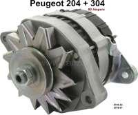 P 204/304, generator (new part). Suitable for Peugeot 204 + Peugeot 304. 12 V, 60 ampere. Paris Rhone A13N226. Or. No. 5705.42 + 5705.67 - 72123 - Der Franzose
