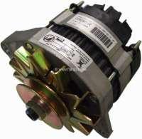 P 504, generator (with integrated battery charging regulator). Suitable for Peugeot 504. 12 V. 40 ampere. Single arm. Assembly position: 20°. Plus Old part deposit 65 Euro. -2 - 72120 - Der Franzose