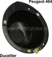 Headlamp casing Ducellier for Peugeot 404 - 75088 - Der Franzose