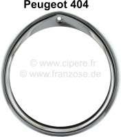 P 404, chrome ring chromium-plates made of metal for headlamp! - 75213 - Der Franzose