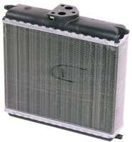 P 504, heater radiator. Suitable for Peugeot 504. Wide one: 193mm. Height: 150mm. Heavy one: 42mm. Or. No. 6448.55 -1 - 72140 - Der Franzose